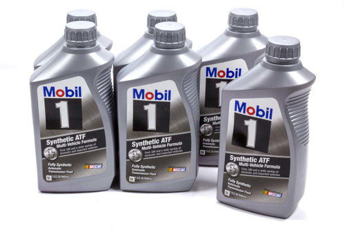 Mobil 1 112980 ATF Synthetic Oil Case 6x1 Qt