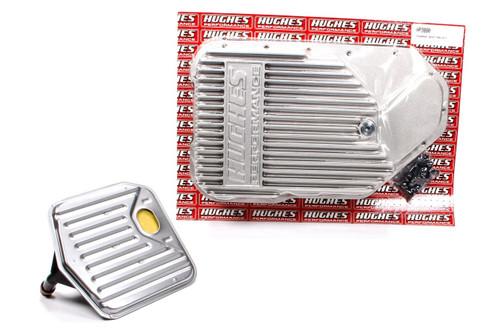 Hughes Performance HP3880 Aluminum Trans Pan Deep GM TH200R4