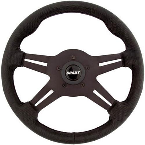 Grant 8510 Gripper Steering Wheel 13in Dia. 1in Dish