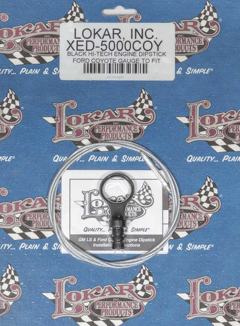 Lokar XED-5000COY Engine Dipstick Ford Coyote Engine