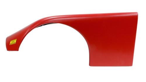 Fivestar 660-24-RL ABC Plastic Fender Wide Left Red