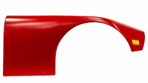 Fivestar 660-24-RR ABC Plastic Fender Wide Right Red