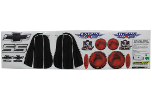 Fivestar 630-450-ID 00 M/C Tailight Decals