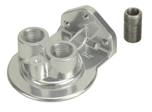 Derale 25728 Ports-Up Filter Mount 1/2in NPT