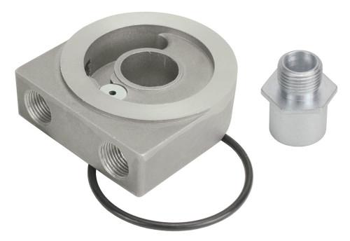 Derale 25772 Low Profile Sandwich Adapter w/Pressr Relief