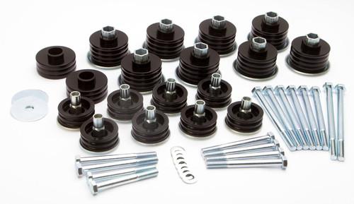 Daystar Products International KF04058BK 99-07 Ford F250 Body Mounts