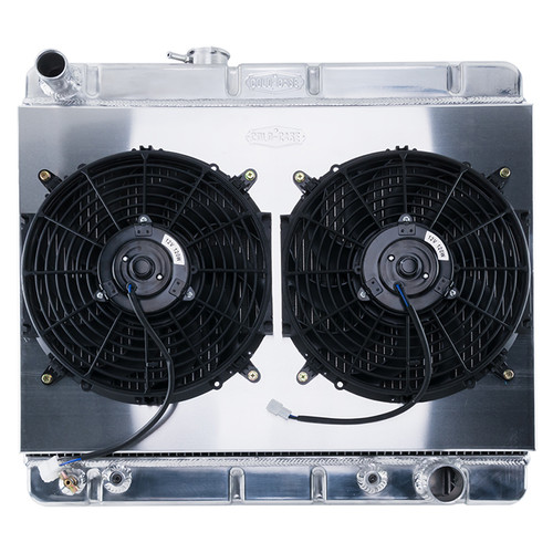 Cold Case Radiators GPG34ASK 64-67 GTO w/o AC HO/SD 1 .25in Radiator AT