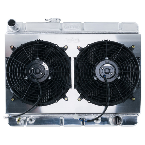 Cold Case Radiators GPG38ASK 64-67 GTO w/AC HO/SD 1. 25in Radiator AT
