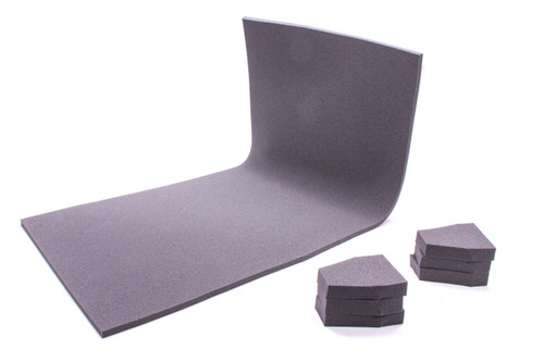 The Crash Pad 401805-802SAM Shock Absorbing Material 1/2in Thick 40x18x1/2
