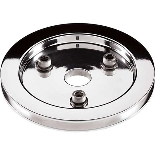 Billet Specialties 81120 Polished SBC 1 Groove Lower Pulley
