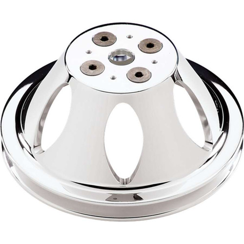 Billet Specialties 82120 Polished BBC 1 Groove Upper Pulley