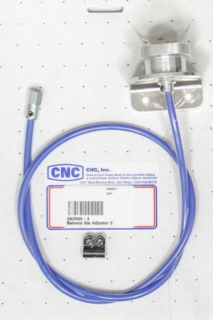 Cnc Brakes 830-3 Balance Bar Adjuster 3'