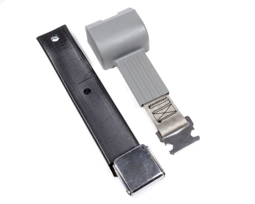 Beams Seatbelts 80590312-00-AA 2 Pt retractable Seat Belt Airplane Style Gray