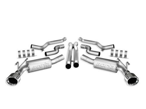 Borla 140280 10-11 Camaro 6.2L V8 Cat Back System