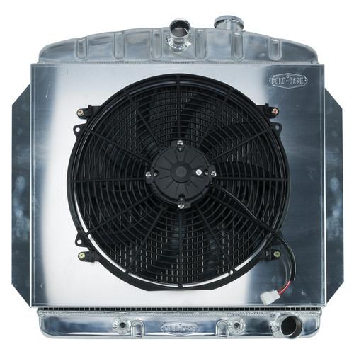 Cold Case Radiators GMT554AK 60-62 Chevy Truck C/K Radiator & 16in Fan