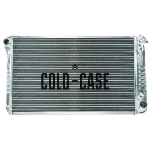 Cold Case Radiators GMT558A 67-76 Chevy GMC Pickup Radiator AT