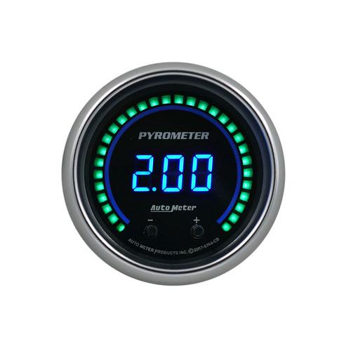 Autometer 6744-CB 2-1/16 Pyrometer Gauge Elite Digital CB Series