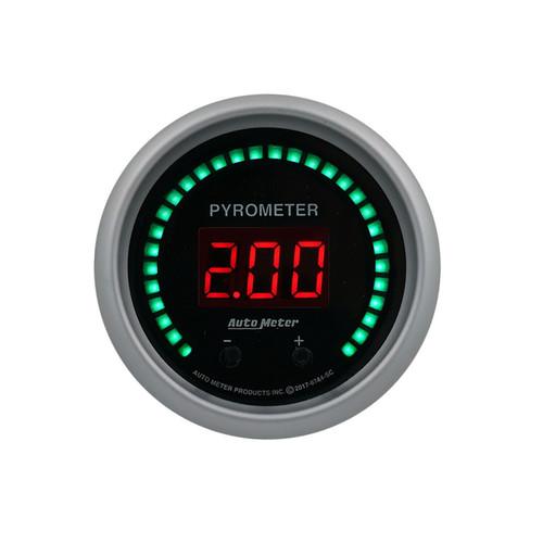 Autometer 6744-SC 2-1/16 Pyrometer Gauge Elite Digital SC Series