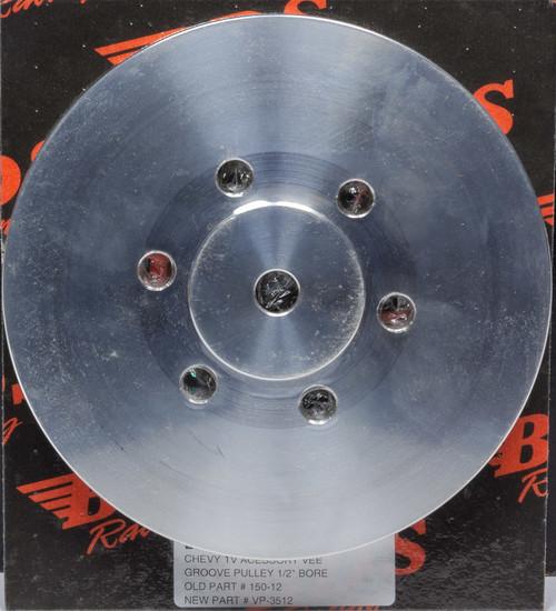 Blower Drive Service VP-3512 Alum. Single Vee Groove Pulley