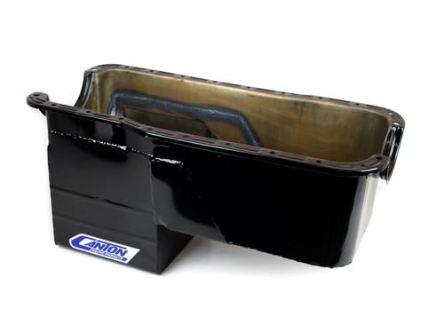 Canton 16-674 Ford 351W 4x4 Oil Pan - 8qt. Rear Sump