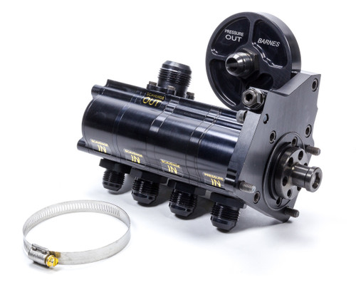 Barnes 9117-4CR1.375 4 Stage Rotor Pump with Filter Mount