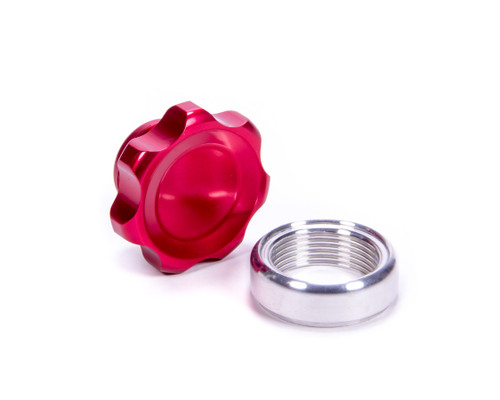 Allstar Performance 36165 Filler Cap Red with Weld-In Alum Bung Small