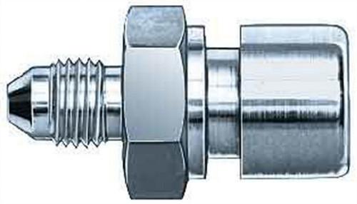 Aeroquip FCM2945 #3 To 10mmx1.0mm Female Steel Adapter