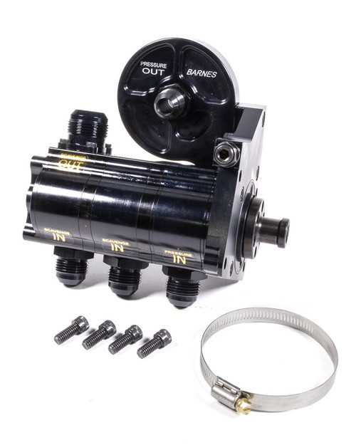 Barnes 9117-3CR1.375 3 Stage Rotor Pump with Filter Mount