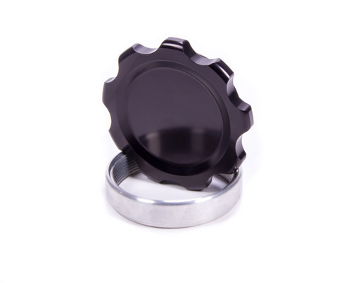 Allstar Performance 36171 Filler Cap Black with Weld-In Alum Bung Large