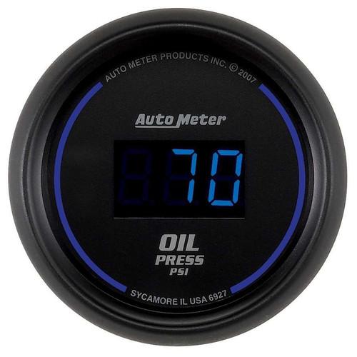 Autometer 6927 2-1/16 Oil Press Gauge 0-100 PSI Digital