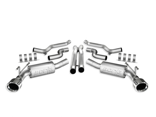 Borla 140356 10-11 Camaro 6.2L Cat Back Exhaust