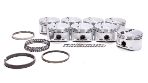 Cp Pistons-Carrillo S2061-8 SBC 305 Sprint Piston Set 3.796/3.500/5.700
