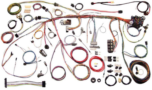 American Autowire 510243 70 Mustang Wiring Harnes