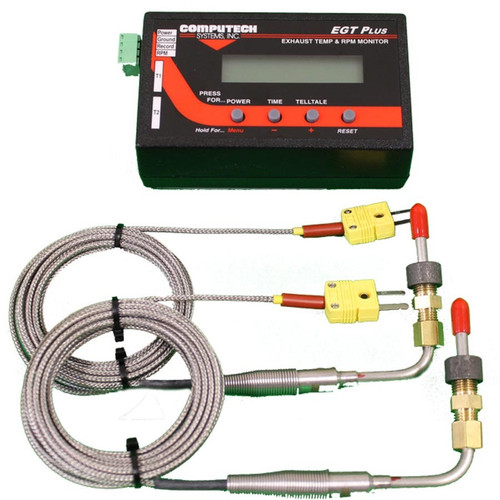 Computech Systems 4100-2 EGT Plus Weld-In Style w/Dual Probes