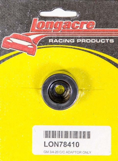 Longacre 52-78410 GM Adapter 3/4in - 20 Thread