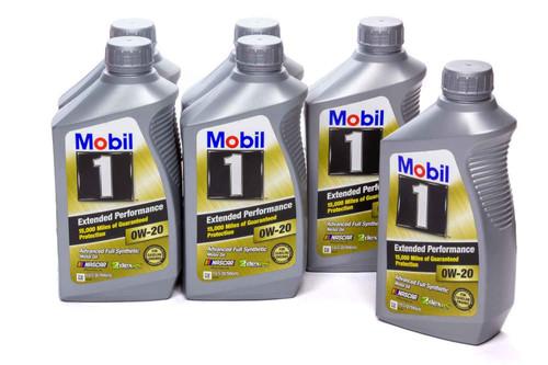 Mobil 1 120926 0w20 EP Oil Case 6x1 Qt Bottle