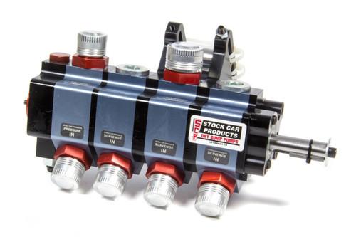 Stock Car Prod-Oil Pumps BT214 4 Stage Dry Sump Pump Bert/Brinn Mount