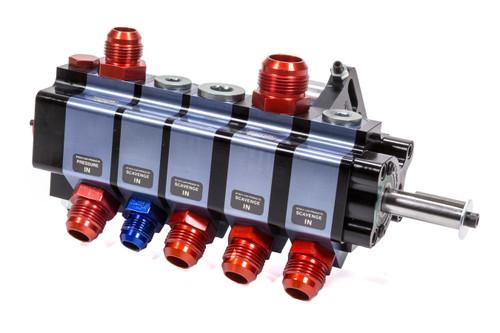 Stock Car Prod-Oil Pumps BT-205A 5 Stage Dry Sump Pump Bert/Brinn Mount Rear Dr