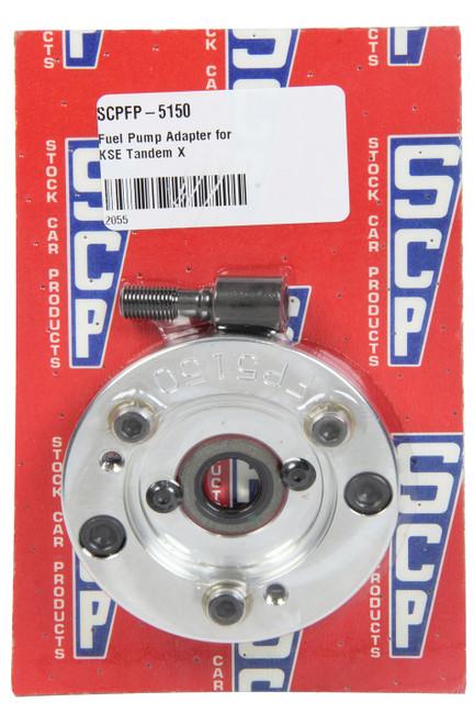 Stock Car Prod-Oil Pumps FP-5150 Fuel Pump Adapter for KSE Tandem X