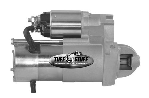 Tuff-Stuff 6631NB Chevy Starter Straight Pattern Gold Zinc
