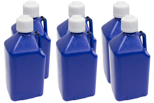 Scribner 2000DB-CASE Utility Jug - 5-Gallon Dark Blue - Case 6