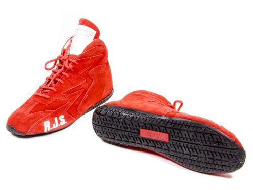 Rjs Safety 500020459 Redline Shoe Mid-Top Red Size 13 SFI-5