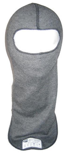 Pxp Racewear 2421 Head Sock Grey Single Eyeport 2 Layer