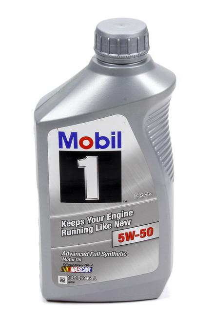 Mobil 1 122075-1 5w50 Synthetic Oil 1 Qt. FS X2