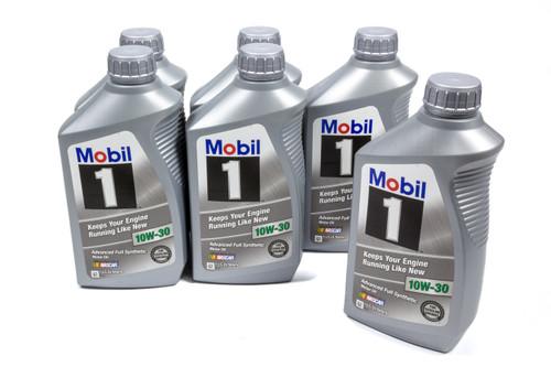 Mobil 1 122319 10w30 Synthetic Oil Case 6x1 Quart