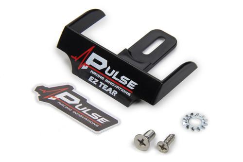 Pulse Racing Innovations EZTS101BK EZ Tear Shield Mounted Black