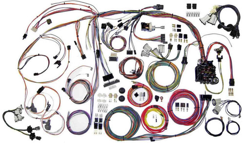 American Autowire 510336 70-72 Chevy Monte Carlo Wiring Kit