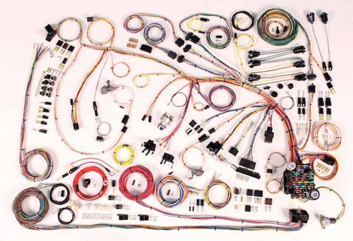 American Autowire 510372 66-68 Chevy Impala Wiring kit