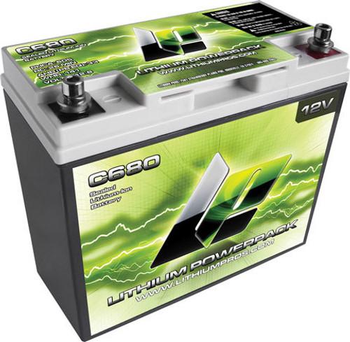 Lithium Pros C680 Lithium-Ion Power Pack 12v 800 Max Amp