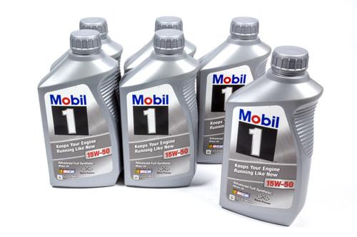 Mobil 1 122377 15w50 FS Oil Case 6x1 Qt